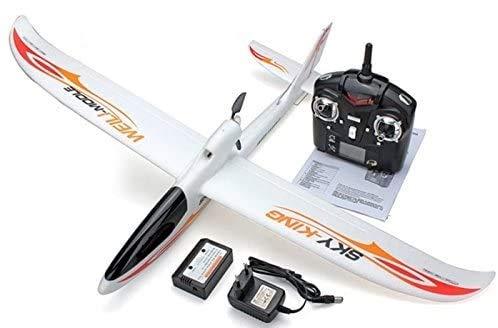 s-idee® 01654 Flugzeug F959 Sky King ferngesteuert mit 2.4 Ghz Technik mit Lipo Akku