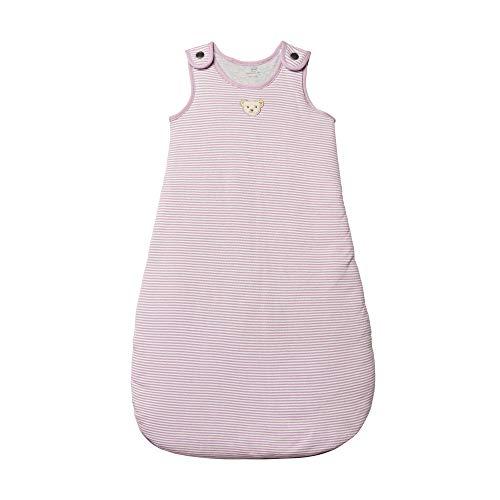Steiff Baby - Mädchen Schlafsack , Weiß (BRIGHT WHITE 1000) , 86/92 (Herstellergröße:90)
