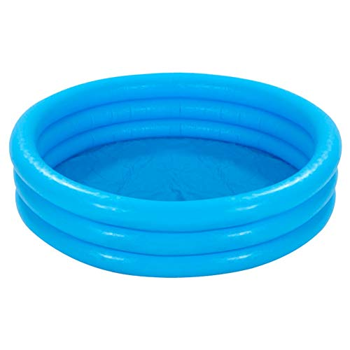Intex Kinderpool 3-Ring-Pool Crystal Blue, Blau, Ø 147 cm