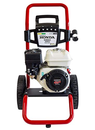 ✦ Benzin Hochdruckreiniger ✦ Powered by Honda GP 200 - 2900 PSI ✦ 196ccm Benzinmotorbetriebener Tragbarer Reiniger W2900HA ✦ Premium Leistung & Qualität Auto- & Terrassenreiniger