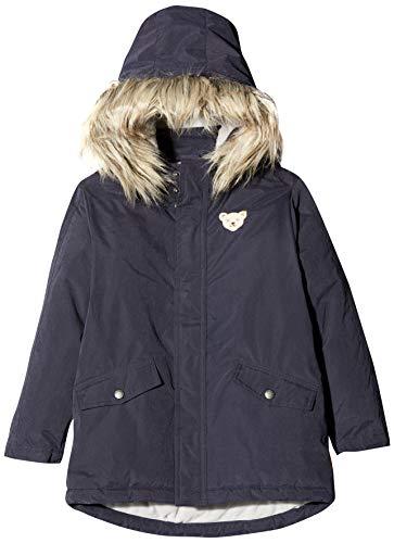 Steiff Jungen Jacket Jacke, Grau (BLACK IRIS 3032), 92 (Herstellergröße:92)