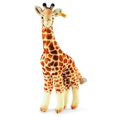 Steiff Bendy Giraffe - 45 cm - Kuscheltier für Kinder - Plüschgiraffe - weich & waschbar - beige, braun (068041)