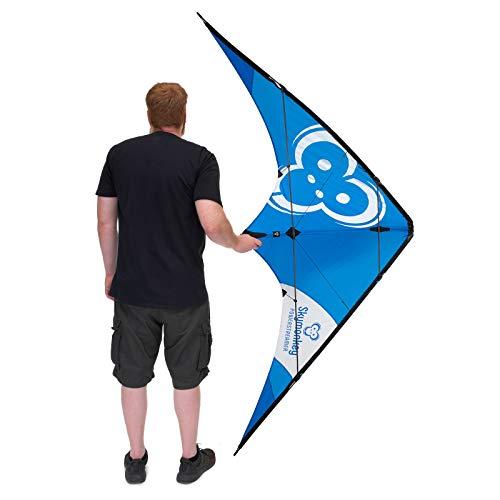 Skymonkey Powerstreamer XXL Lenkdrachen, Sportlenkdrache Fortgeschrittene- 212 cm