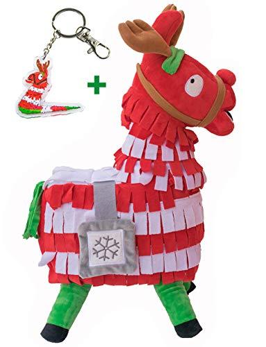 Blest Guest Weihnachten Loot Lama Plüsch-Spielzeug-Puppe Figur, Troll Stash Tier Alpaka-Geschenk für Kinder Mädchen Jungen Kinder (M)
