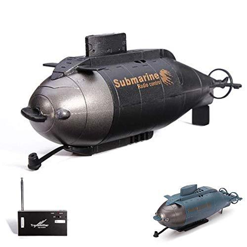 HSP Himoto 6-Kanal Mini RC ferngesteuertes U-Boot Submarine, Komplett-Set inkl. integr. Akku, Ladegerät, Fernsteuerung