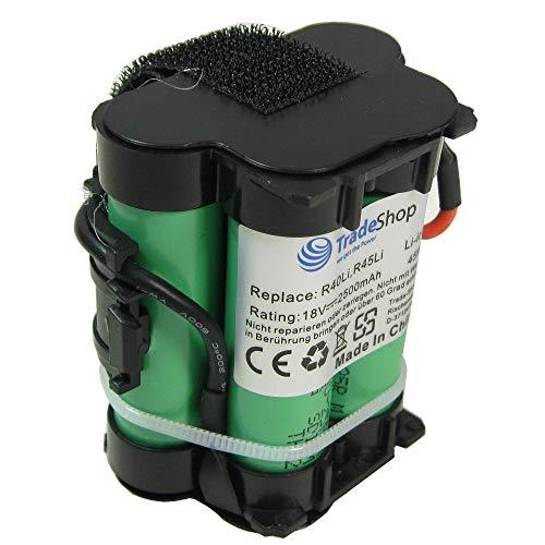 Trade-Shop Premium Li-Ion Akku 18V / 2500mAh für Gardena Mähroboter R38Li R50Li R75li R40Li R45Li R70Li R80Li R80 LI 124562