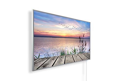 Könighaus Fern Infrarotheizung - Bildheizung in HD Qualität mit TÜV/GS - 200+ Bilder – mit Smart Home Thermostat, steuerbar mit APP für Handy- 1000 Watt (42. Steg)