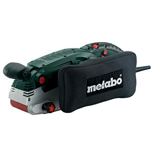 Metabo Bandschleifer BAE 75 (600375000) Karton; mit Maschinenständer, Drehmoment: 12 Nm, Schleifband: 75 x 533 mm, Schleifband-Auflagefläche: 85 x 150 mm