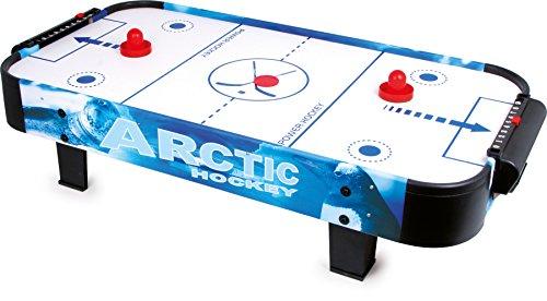 Small Foot 2019739 foot 9878 Air-Hockey-Spieltisch aus Holz und Kunststoff, mit einem Puck und zwei Schlägern, ab 3 Jahren