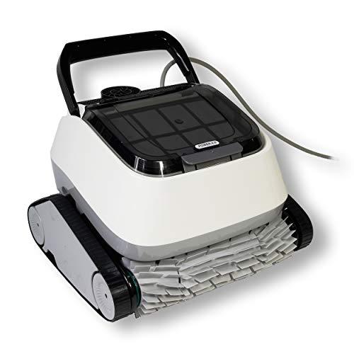 Poolreiniger Power 4.0, vollautomatisch, Boden und Wandsauger, Pool Reinigung, Schwimmbecken, grau
