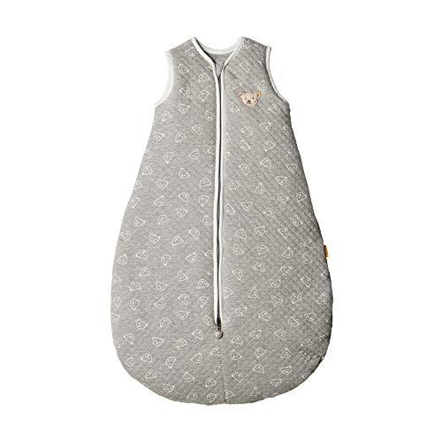 Steiff Unisex Baby Sleeping Bag Schlafsack, Grau (Quarry 9007), 74/80 (Herstellergröße: 70)