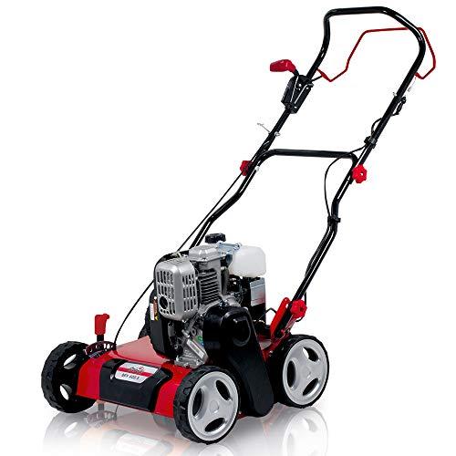 Grizzly Tools Benzin-Vertikutierer BRV 400 S, 2,2 kW, 3 PS, Stahlgehäuse, 40cm Arbeitsbreite, inkl. Vertikutierwalze