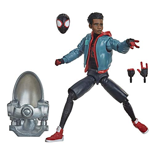 Hasbro Marvel Legends Series Spider-Man: A New Universe Miles Morales 15 cm große Action-Figur zum Sammeln und 3 Accessoires