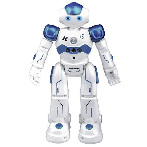 kuman Ferngesteuerter Roboter Spielzeug für Kinder, Intelligent Programmierbar RC Roboter mit Gestensteuerung, LED Licht und Musik, RC Spielzeug für Kinder Jungen Mädchen Geschenk