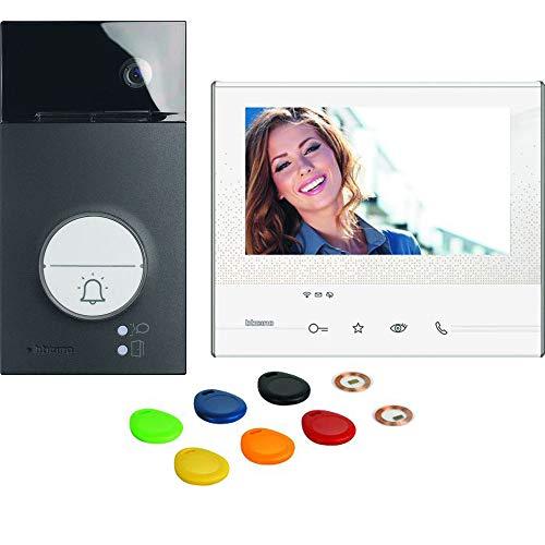 2-Draht Videosprechanlagen WLAN Set, Black Flex ONE Classe 300 X13E mit 7' Touchscreen, Weitwinkel Kamera, Bildspeicher, Transponder