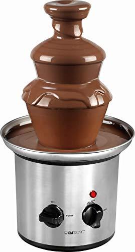 Edelstahl Schokoladen-Brunnen Schoko-Brunnen Fontäne Elektrisch Käse Frucht-Soße Barbecue-Soße (Sparsame 170 Watt, 500 g Schokolade, 750 g Kuvertüre)