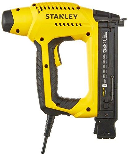 Stanley HD Elektrotacker (2,4 m Kabellänge, Soft Grip, Sicherheitskontakt-Schalter, Krafteinstellrad) 6-TRE650