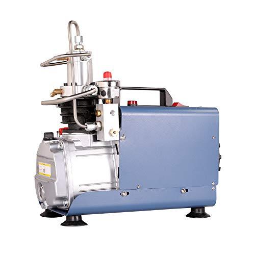 Sfeomi Automatisch Luftkompressor-Pumpe Stopp Kompressor 1800W 30MPA 4500PSI Hochdruck Hochdruckluftpumpe Kompressorpumpe PCP Inflator für die Aufblasflasche
