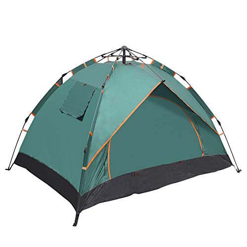AIBOOSTPRO Pop Up Wurfzelte 2 Personen Doppelte Schichten Zelte Wasserdicht für Picknick, Parkcamping und andere Freizeitaktivitäten im Freien