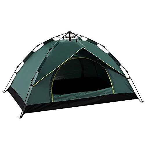 Rayisin Pop up Zelt, Wurfzelt wasserdicht Zelt 1-2 Personen Campingzelt Sonnenschutz OutdoorZelt Ultraleichte Sekundenzelt Festival Sekundenzelt perfekt für Camping, Wandern und Urlaub
