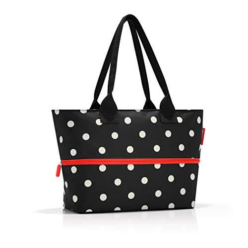 reisenthel shopper e1 mixed dots Maße: 50 x 26,5 x 16,5 cm / Maße: 50 x 35 x 16,5 cm expanded