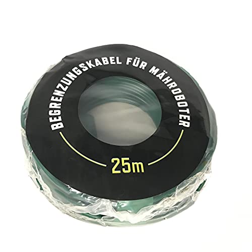 JayBlade 25m Begrenzungskabel Ø2,7mm für Mähroboter - Suchkabel - Begrenzungsdraht - kompatibel mit GARDENA EINHELL KRESS HUSQVARNA WORX HONDA ROBOMOW KÄRCHER McCulloch YARD FORCE AL-KO Landxcape