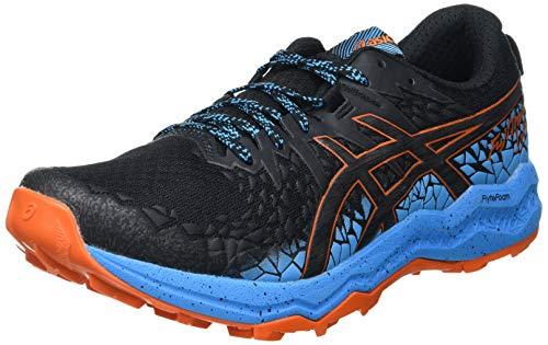 Asics Herren Fujitrabuco Lyte Walking-Schuh, Black/Digital Aqua, 44 EU