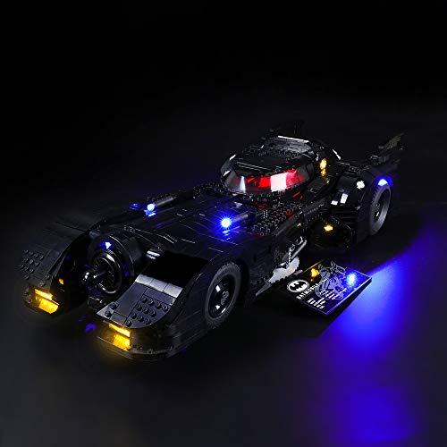 LIGHTAILING Licht-Set Für (Super Heroes 1989 Batmobile) Modell - LED Licht-Set Kompatibel Mit Lego 76139(Modell Nicht Enthalten)