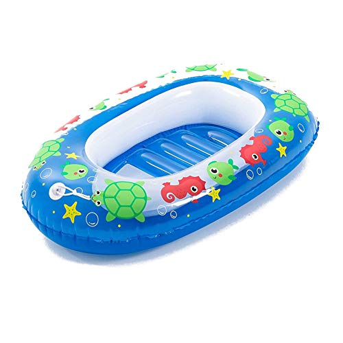 Bestway aufblasbares Schlauchboot für Kinder Kiddie Raft, 102 x 69 cm, blau