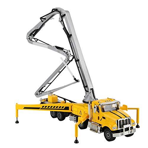 Ponacat RC Betonpumpe LKW Baumaschinen Fahrzeug Drahtlose Legierung Engineering Baggerwagen mit Vier Dehnbaren Beinen Maßstab 1:55