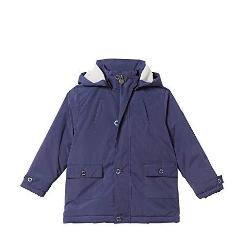 Steiff Baby - Jungen Jacke , Blau (PATRIOT BLUE 6033) , 86 (Herstellergröße:86)