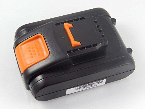 vhbw Akku kompatibel mit Worx Landroid M1000 WR143E, M500 WR141E, M700 WR142E, M WR141E Elektrowerkzeug (1500mAh Li-Ion 20 V)