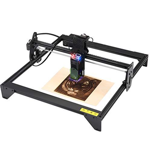20W Laser Graviermaschine, Graviermaschine Laserengraver Kits,Präzisionsgravur Schneiden,10-20 Minuten Schnell Installation, USB-Verbindung,mit Laserschutzhülle,Laserausgangsleistung: 5000mw,41x40cm