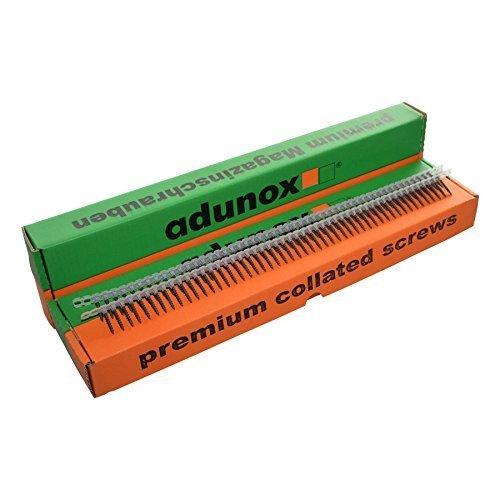 adunox Gurtmagazinschrauben / Magazinschrauben 3,9 x 25 mm mit Grobgewinde 3VE (3000St)