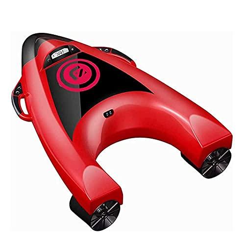 WBJLG Elektrisches Surfbrett Unterwasserscooter mit 5-Gang-Steuerfunktion, Sockelleiste, Seascooter, Wasserski-Schwimmbrett, geeignet für flaches Schwimmen