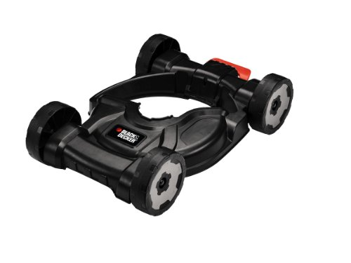 Black+Decker 3-in-1 City Mähaufsatz (40-60 mm Schnitthöhe für Rasentrimmer STC1820, STC1815, ST5530, ST4525, GL5028) CM100