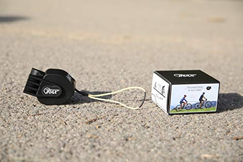 Trax MTB Abschleppsystem für Fahrrad/Zyklen/E-Bike, Erwachsene, Unisex, Schwarz, Standard