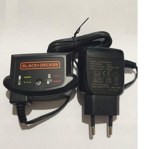 Black & Decker Original Akku Ladegerät 90590287-06 8-20V Für 18V System Slidepack Li-Ion BL2018