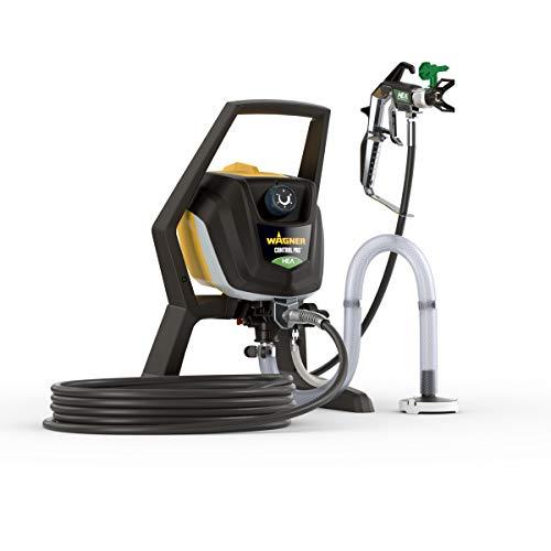 WAGNER Airless Farbsprühsystem Control Pro 350 R für Dispersions-/Latexfarben, Lacke & Lasuren, im Innen- & Außenbereich, 15 m²-2 min, Druckregulierung, 110 bar, Schlauch 15 m