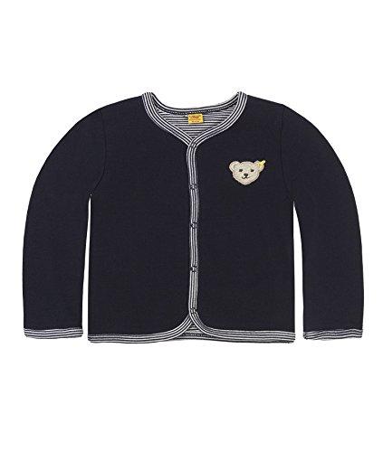 Steiff Baby-Unisex 6617 Sweatshirt, Blau Marine|Blue 3032, 62
