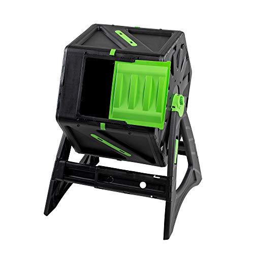 UPP Trommel-Komposter 105L   Roll-Kompostierer   Composter   interne Belüftung   Sicher vor Ungeziefer   Schnellkomposter