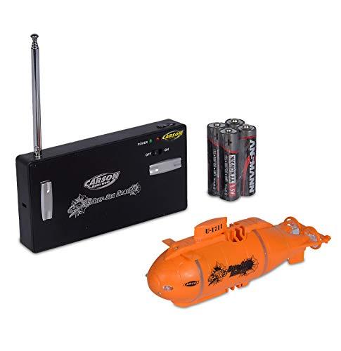 Carson 500707117 - XS Deep Sea Dragon 100%RTR(orange) , Ferngesteuertes Boot, RC Boot