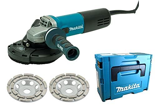 Makita/Trongaard - Sanierungsset/Sanierungsfräse/Putzfräse/Winkelschleifer Set 125mm