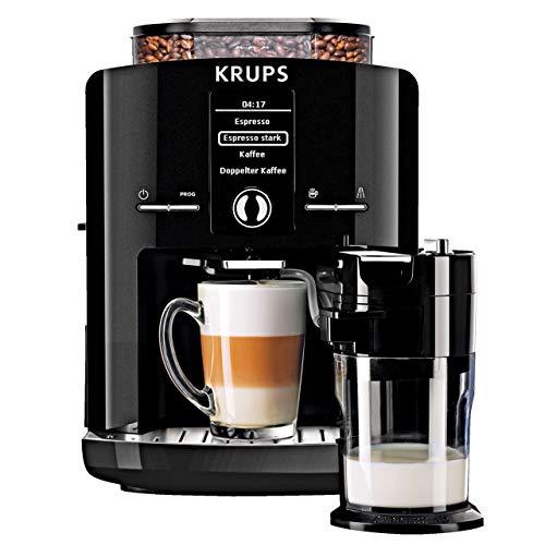 Krups Latt'Espress EA8298 Kaffeevollautomat inkl. 2 Emsa Isolierbecher.
