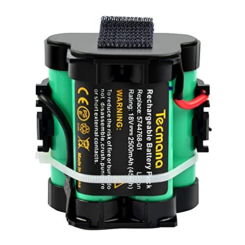Tecmana 2.5Ah 18V Lithium Akku Kompatibel mit Gardena Mähroboter R38Li, R40Li, R45Li, R50Li, R70Li, R75li, R80Li, 124562