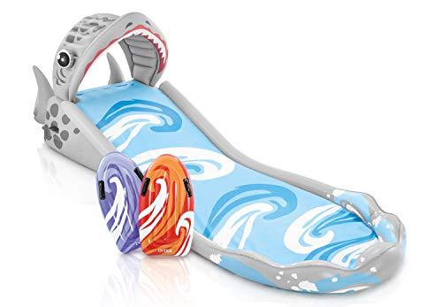 Intex Surf 'N Slide - Kinder Aufstellpool - Planschbecken - 442 x 168 x 163 cm - Für 6+ Jahre