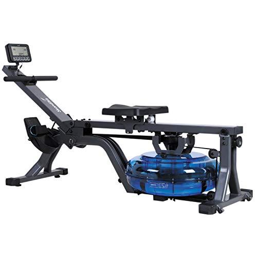 skandika Wasser-Rudergerät Nemo II/III/Compact, Water Ruderzugmaschine mit regulierbarem Wasserwiderstand, Rower mit 130/150 kg Benutzergewicht (Nemo Compact)