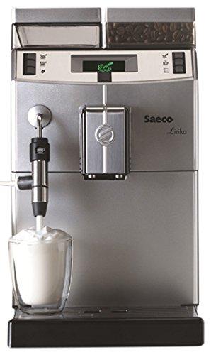 Saeco 10004477 Lirika Macchiato Kaffeevollautomat, ABS, 2 liters, schwarz