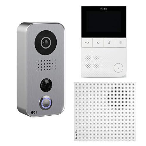 D101S IP-Video-Türsprechanlagen-Kit mit Videomonitor A1101 und Gong A1061W - Doorbird