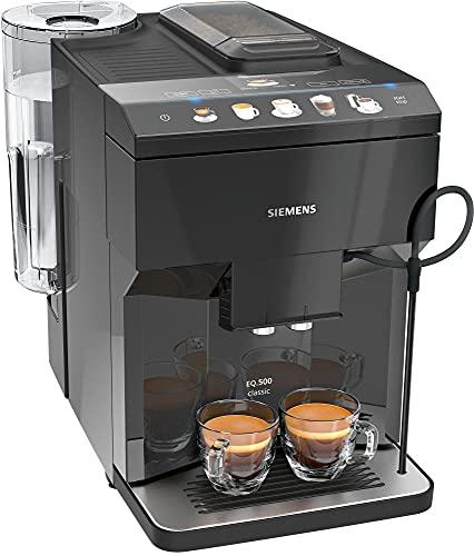 Siemens EQ.500 TP501R09 vollautomatische Kaffeemaschine, 1,7 l, Schwarz